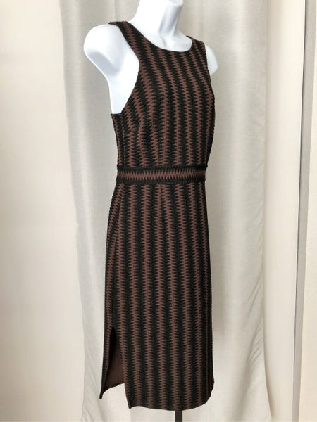 Maeve Anthropologie Size Small Brown Black Tribal Dress