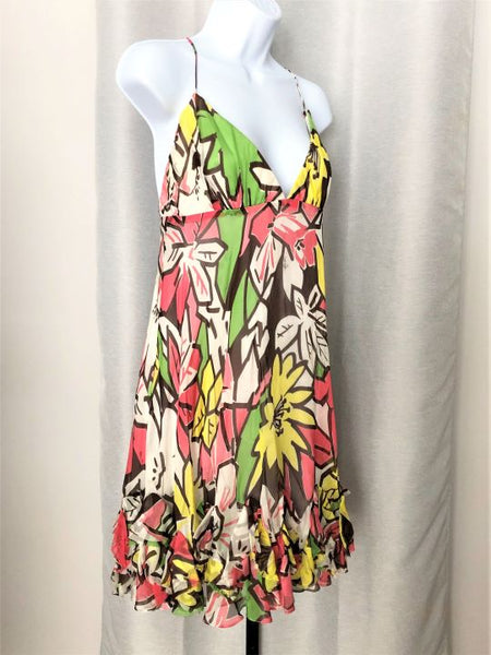 Milly Size 12 Silk Floral Sundress