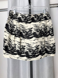 Silence + Noise Anthropologie Size 12 Black and White Skirt