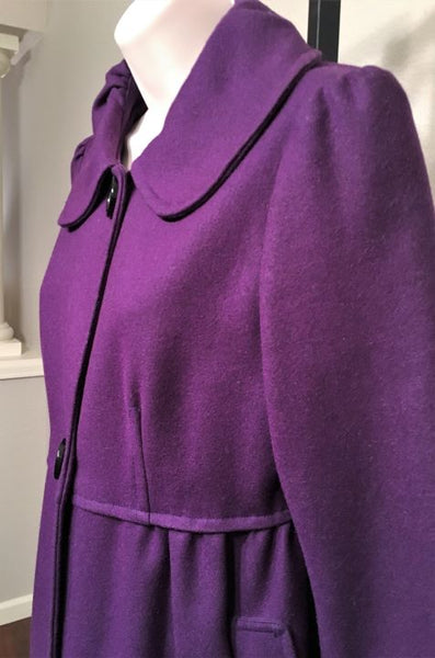 PIKO 1988 for Anthropologie Size Small Purple Coat