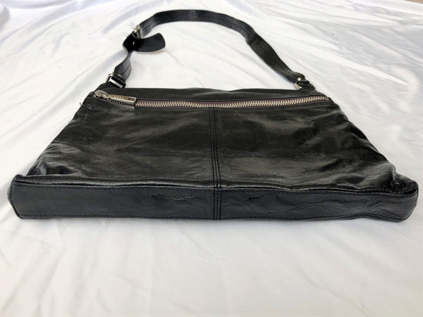 Hobo Lorna Black Leather Cross Body Bag