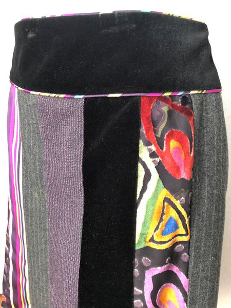 ETRO Size Small Mixed Prints Skirt