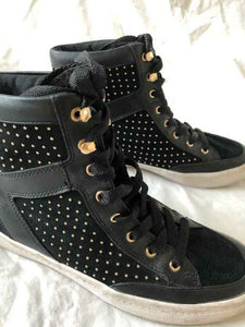 Rebecca Minkoff Size 6.5 Black Studded Sneakers