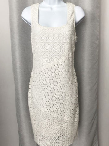 Yoana Baraschi Size 6 White Lace Dress