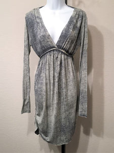 Anama Anthropologie Size Medium Blue Dress