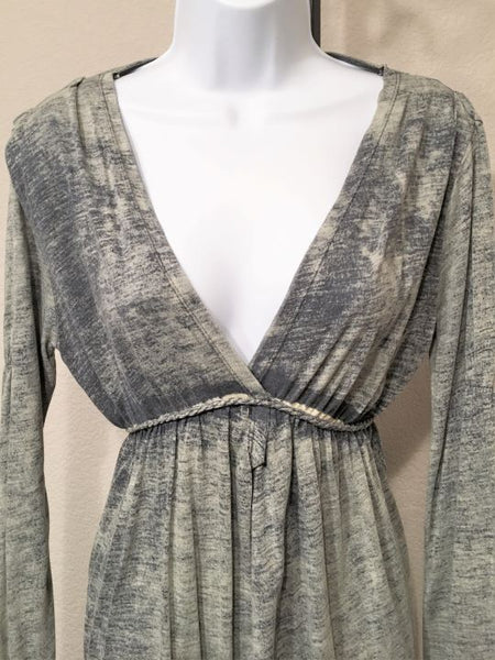 Anama Anthropologie MEDIUM Blue Dress
