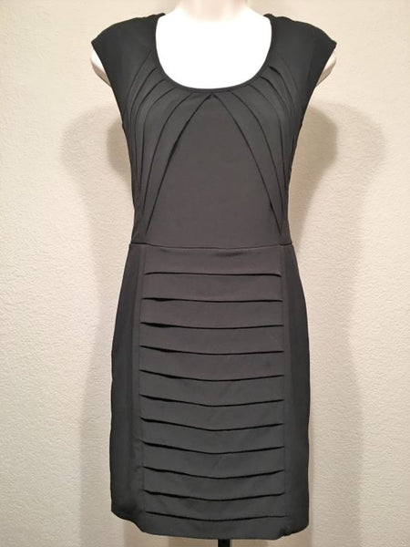 BCBG Size Small Black Stretch Layers Dress - NWT