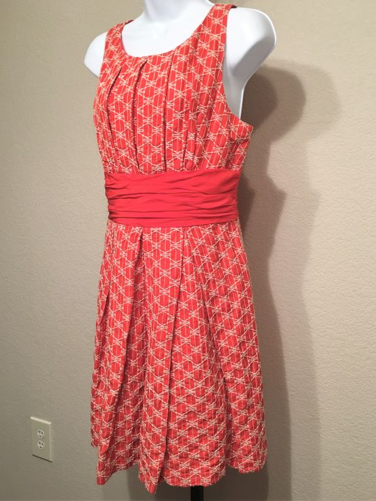 Frock! Tracy Reese Anthropologie Size 12 Orange Dress