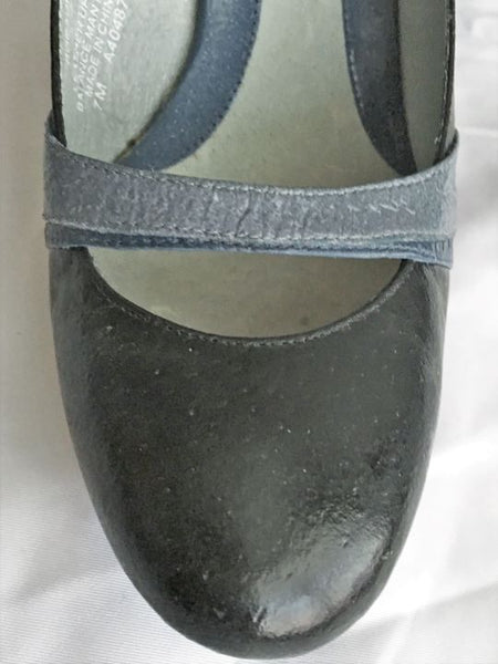 Kenneth Cole Size 7 Blue Slingback Pumps