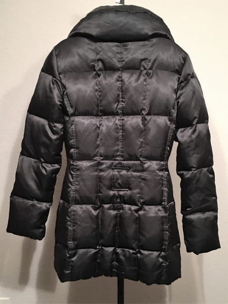 Laundry Size Medium Black Puffer Jacket