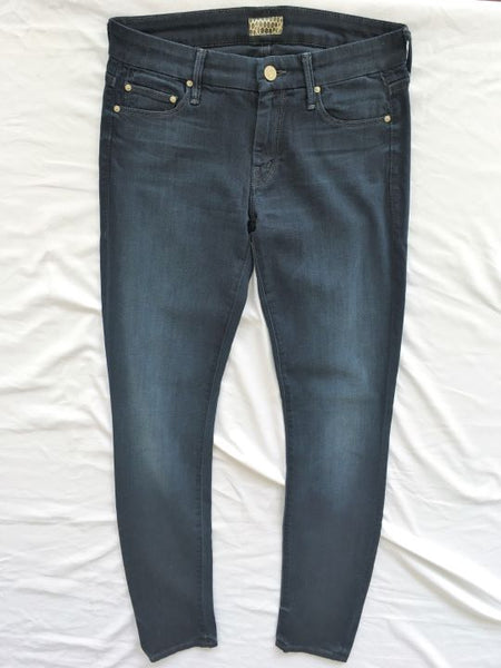 MOTHER Size 2 The Looker Blue Skinny Jeans