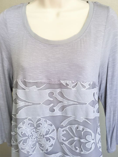 Meadow Rue Anthropologie MEDIUM Lavender Top