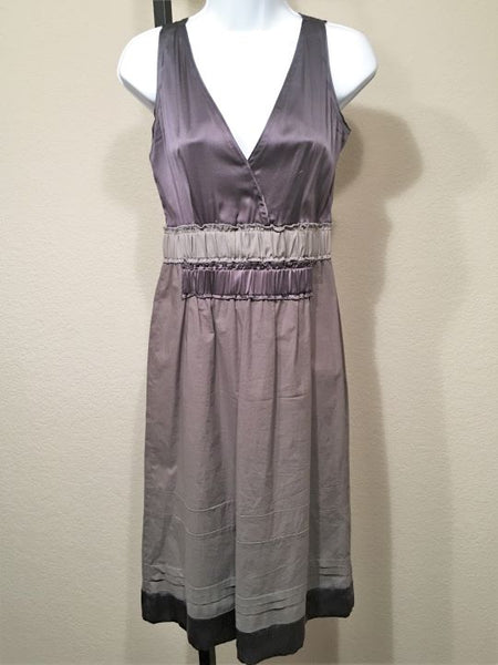Schumacher Size Small Gray Purple Sleeveless Dress
