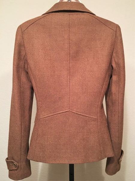 Theory Size 4 Brown Double Breasted Blazer