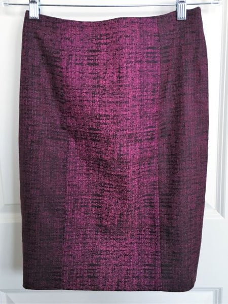 Yoana Baraschi Anthropologie Sz 4 Magenta Skirt