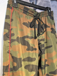 Pam & Gela SMALL Green Camo Lounge Pants