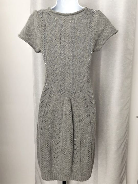 Sleeping on Snow for Anthropologie Size XS Gray Knit Dress