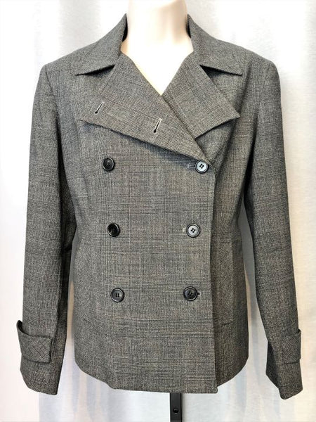 Jenne Maag Size Small Gray Tweed Blazer