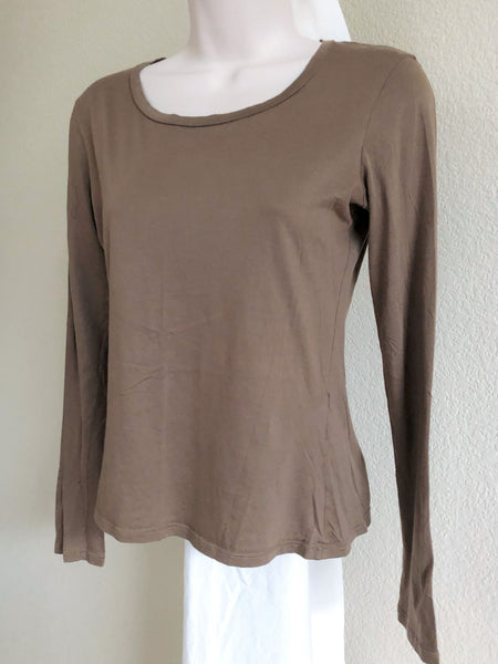 Jil Sander Size XS Tan Long Sleeve Top