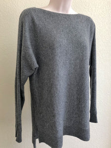 VINCE XS Gray Cashmere Sweater