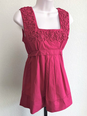 Yoana Baraschi Anthropologie Size 2 Magenta Top - NEW