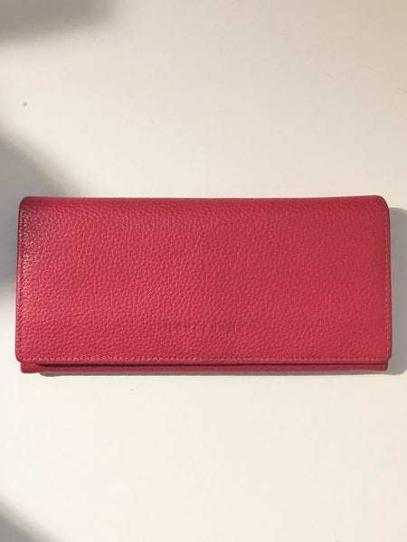Longchamp Pink Leather Wallet