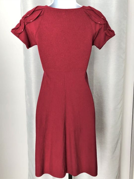 Catherine Malandrino Petite Red Knit Dress