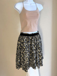 Scotch & Soda Size Medium Black and Gold Skirt