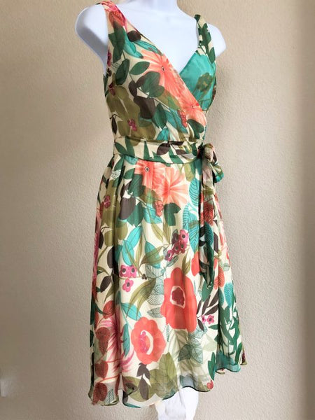 Beth Bowley Anthropologie Size 6 Floral Dress