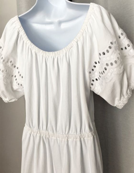 Kate Spade LARGE White Cotton Eyelet Dress