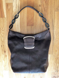 Banana Republic Brown Leather Tote