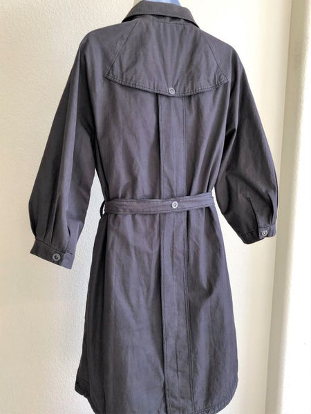 Triple Five Soul Size Small Gray Trench
