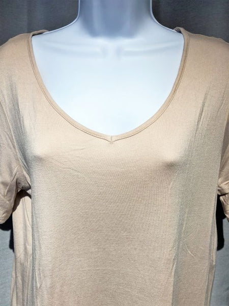 Reiss LARGE Blush Short Sleeve Top