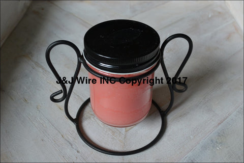 1/2 Pint Jelly Jar/candle Holder 278 Candle