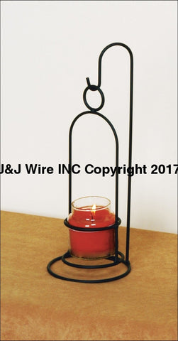 Holder For Small Jar Candle/votive 540 Candle