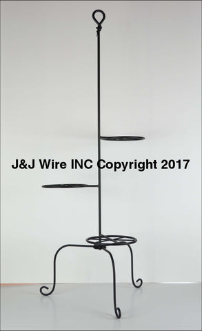 Signature Hand-Forged Knot Series Triple Plant Stand 3073