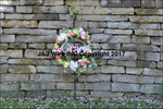Sutter Creek Outdoor Wreath Holder 4105
