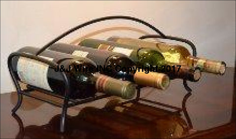 Winestone Four Bottle Wine Holder 4178 Rack