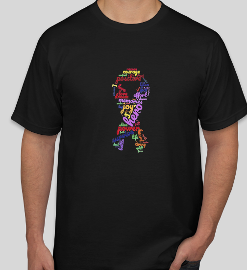 Word Cloud Chronic Illness Fighter Shirt