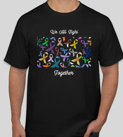 "Chronic Illness ""We All Fight Together"" Ribbon Shirt"
