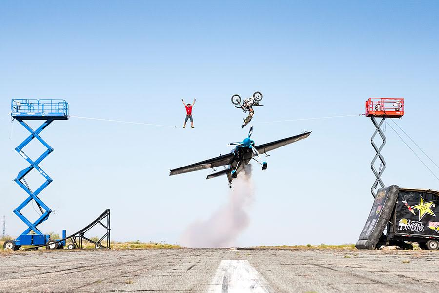 Stunt photography