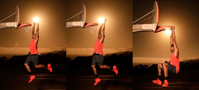NBA star Anthony Davis dunks the sun