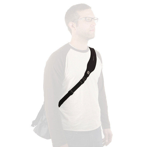 Comfortable strap for laptop bag