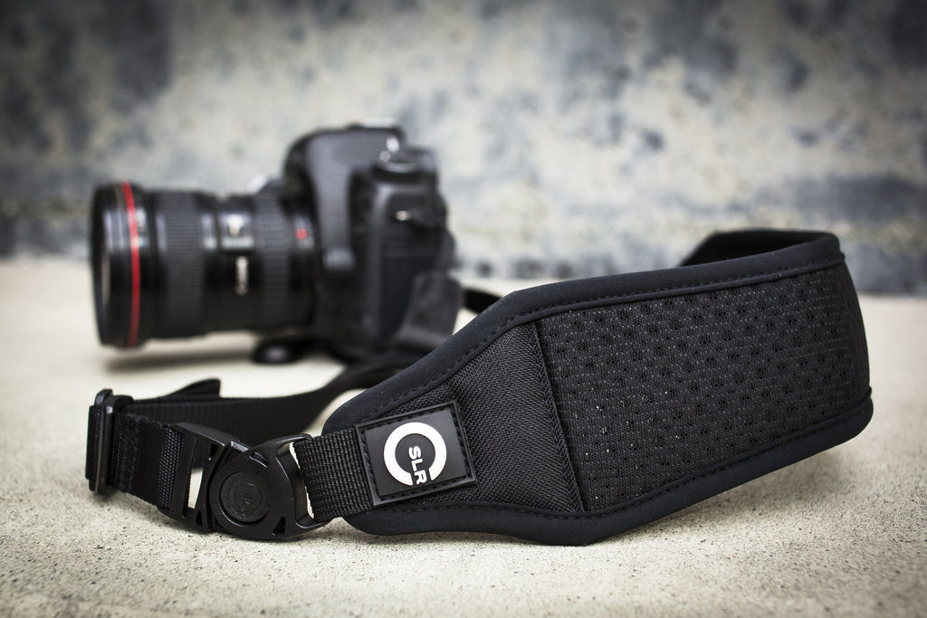 Air Strap connected to DSLR camera