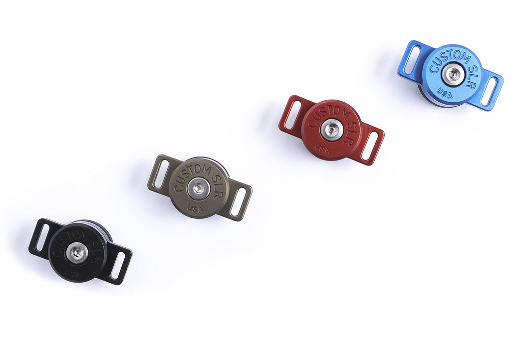 C-Loop HDs in four colors: Black, blue, gunmetal, and red.