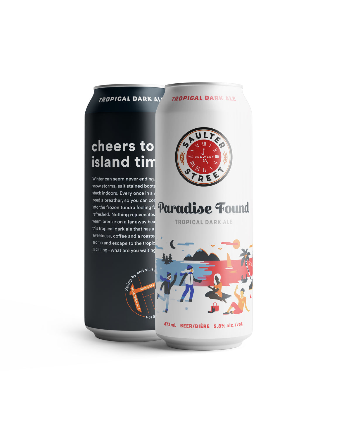 Paradise Found - Tropical Dark Ale
