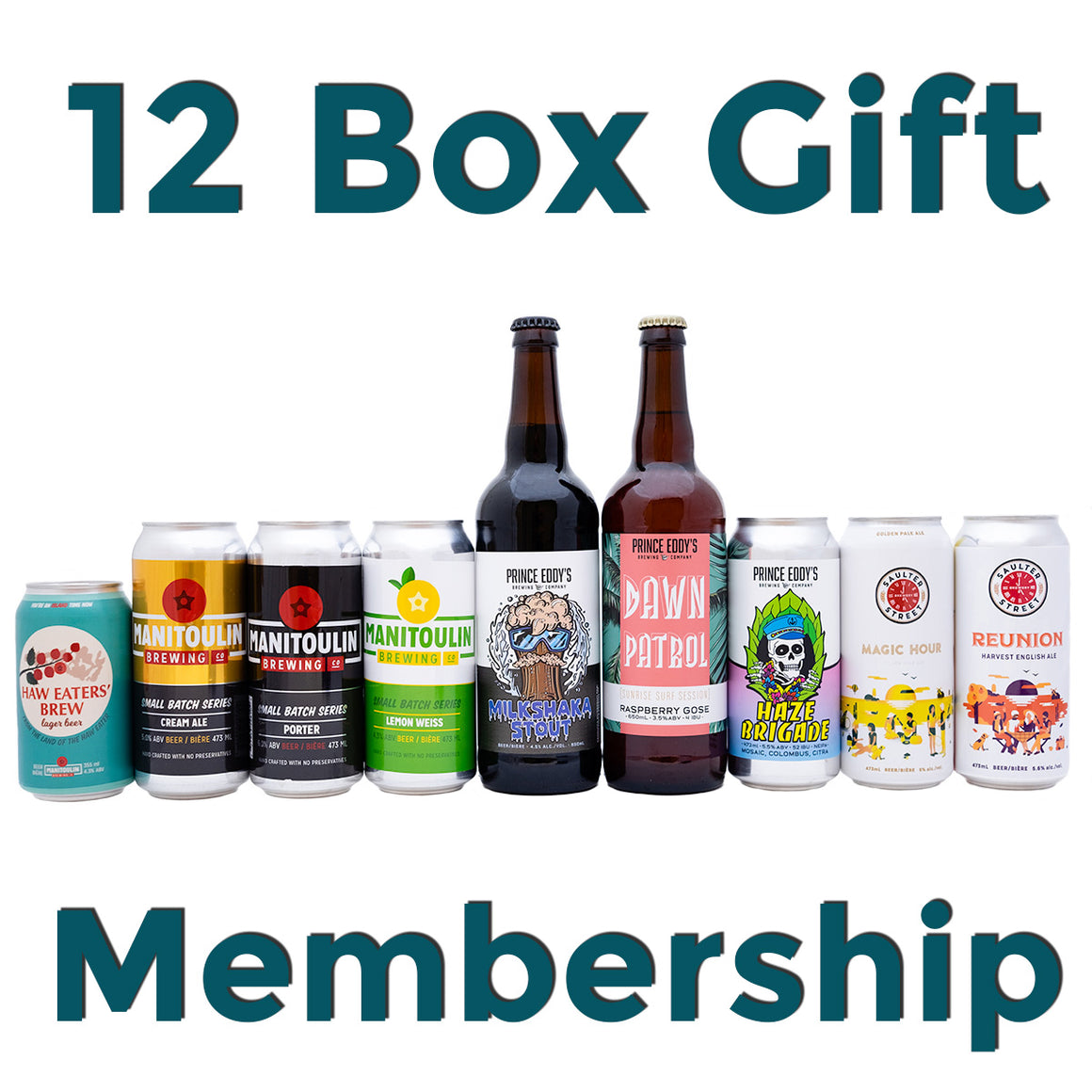 Brewscovery 12 Month Gift - $50/Month