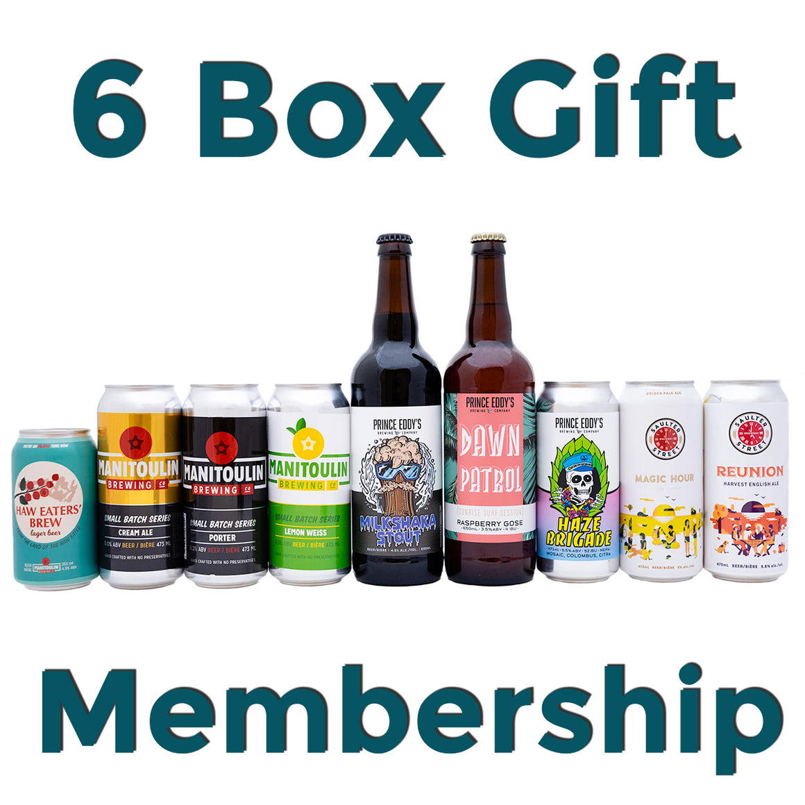 Brewscovery 6 Month Gift - $50/Month