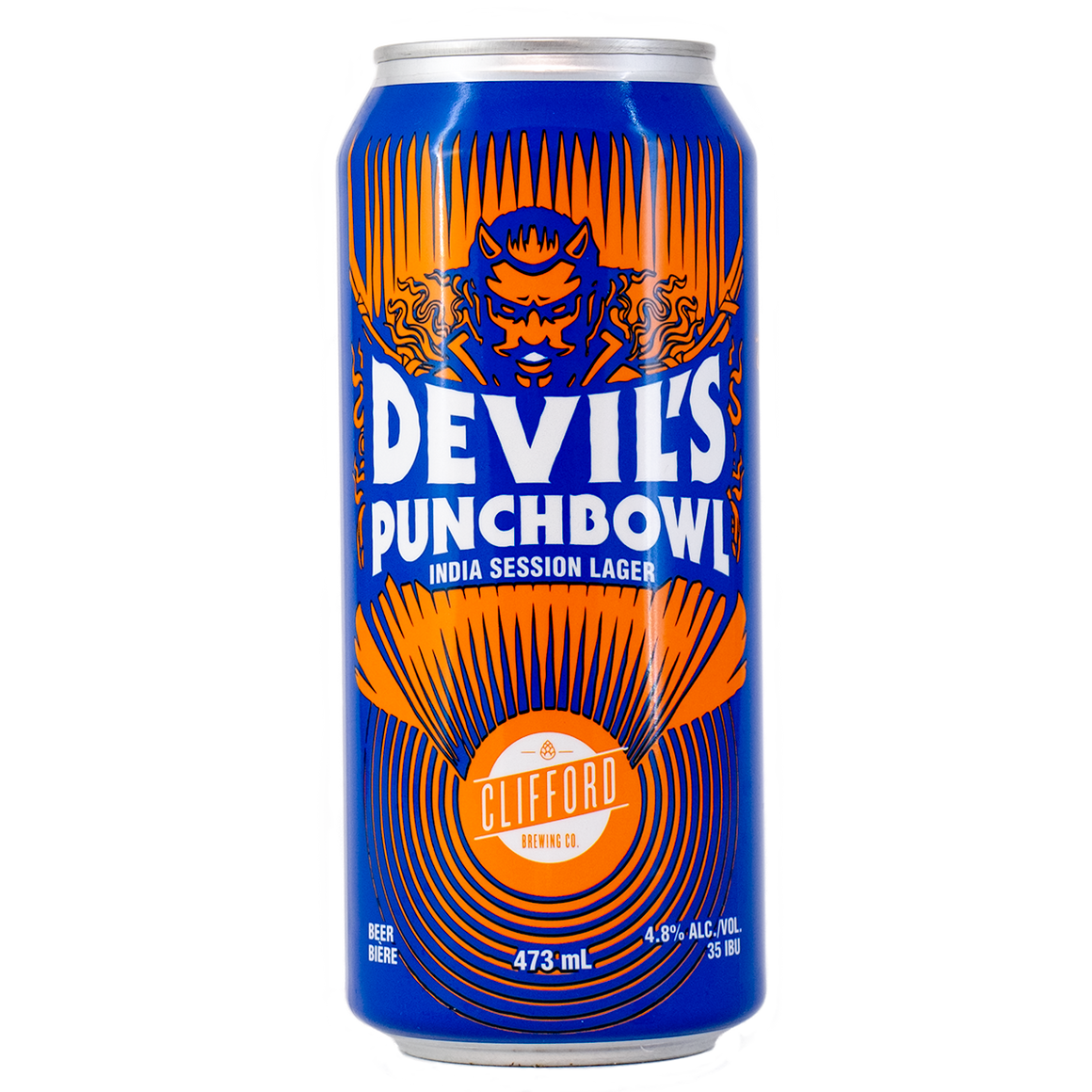 The Devil's Punchbowl - Hopped Lager