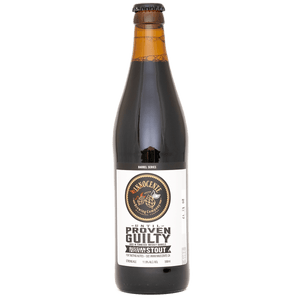 2015 Until Proven Guilty  – Barrel Aged Russian Imperial Stout